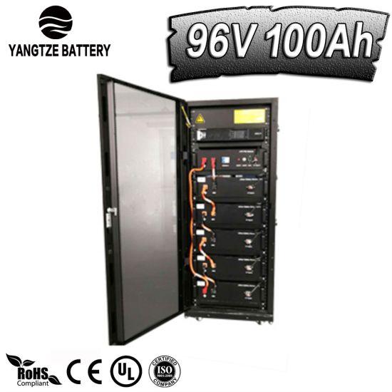 Yangtze Factory Wholesale Cheap Price 96V 100ah Deep Cycle High Energy LiFePO4 Lithium Battery