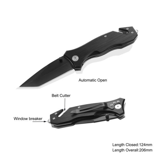 Spring Assisted Survival Knife (#3332AT)