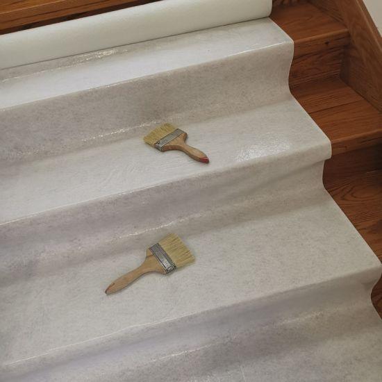 Protective Fleece Painter Cover Fleece White Glue Sticky Tile Mat Adhesive Felt