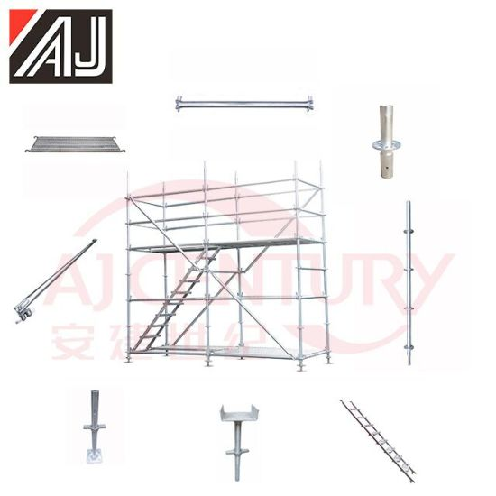 All-Round Metal Ringlock Scaffolding System for Construction (Guangzhou Manufacturer)