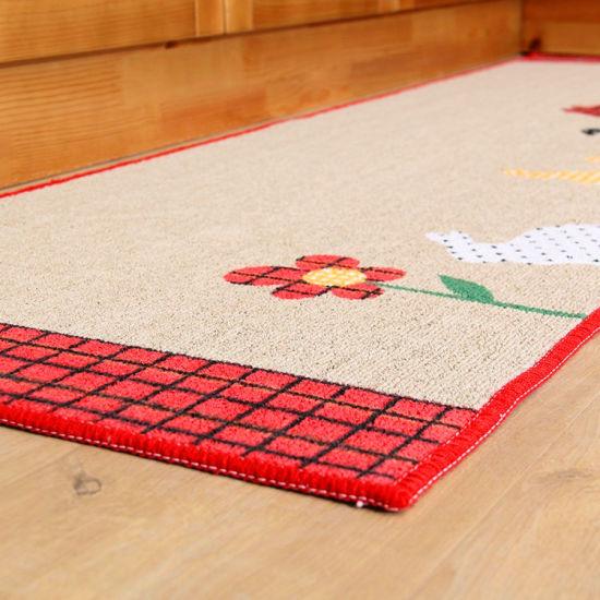China Cartoon Rectangle Lovely Printing Carpet Anti Slip Waterproof Hot Sale China Nylon Yarn And Latex Price