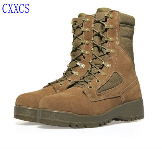 Ankle Genuine Leather New Design Desert Leather Military Tactical Boots
