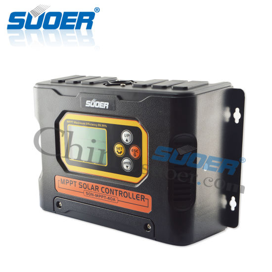 Suoer 12V 24V 48V 40A MPPT Solar Charge Controller (SON-MPPT-40A) pictures & photos