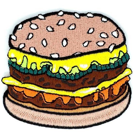 Stitchwork Patch of Hamburger King