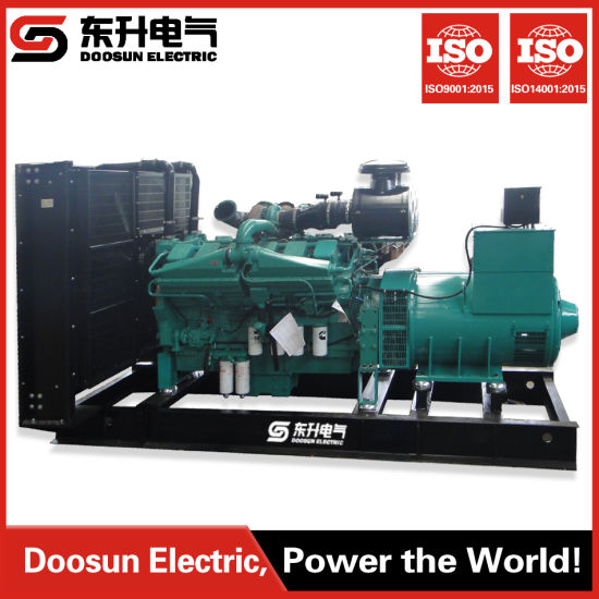 1000 Kw Cummins Diesel Turbine Electric Power Generator Applied to Aiports  and Harbours