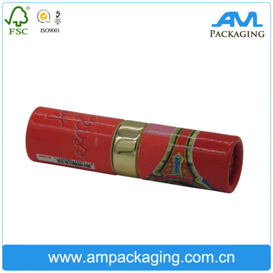 Printing Packaging Lipstick Box Cardboard Paper Tube with Resin Mechanism pictures & photos