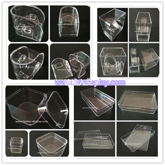 Wholesale Small Clear Plastic Box for Packing Gift Box