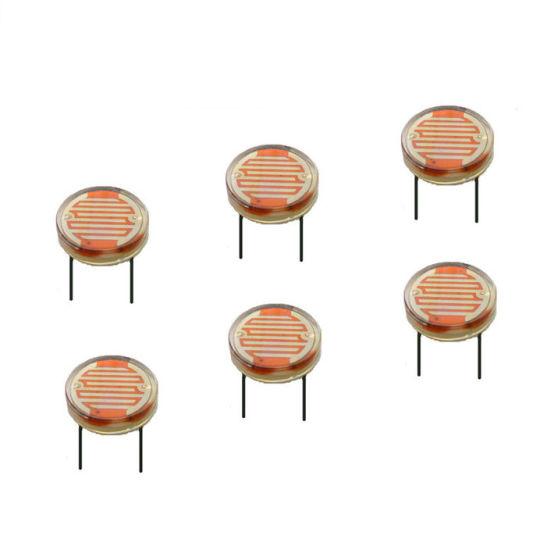 China 20mm Organic Glass Light Dependent Resistor/Sensor for Garden ...