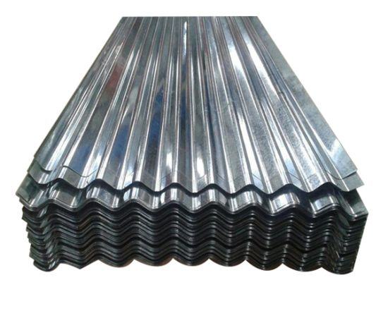 Dx51d Hot-DIP Galvanized Zinc Coated Corrugated Steel Roofing Sheet