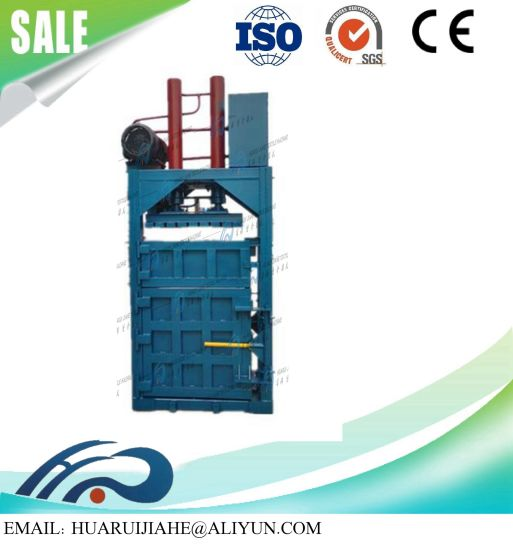 Automatic Waste Paper Baling Packing Machine Waste Carton/Textile/Fiber Baler Machine/High Pressure Vertical Baler Vertical Type Hydraulic Press Waste Paper