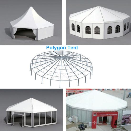 Antiuv Flame Retardant Spherical Colorful Printing Polygon Tent