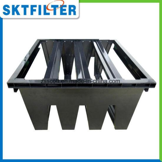 China Air Filter Custom Plastic Frames For V Bank Filter China
