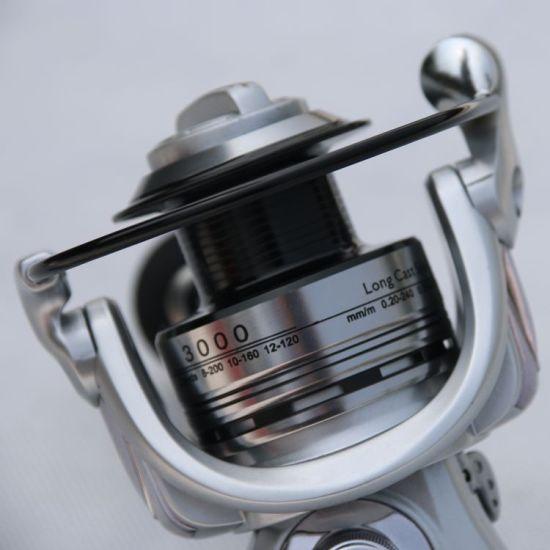 A03-Sea Fishing Line Round Metal Spinning Wheel Line Round Rod
