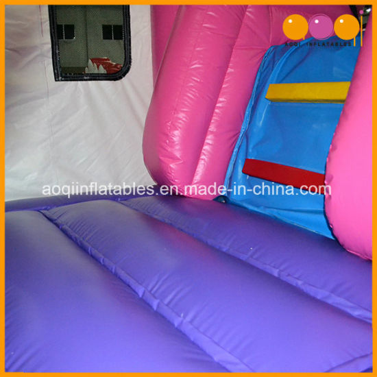 Hot Sale Princess Bouncer Slide Inflatable Car Combo for Kids (AQ07154) pictures & photos