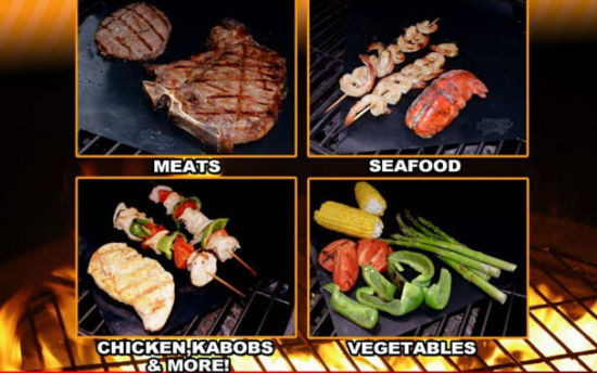 Healthily Non Stick Baking BBQ Mat BBQ Accessories pictures & photos