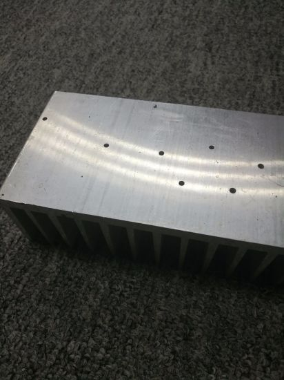 6063 Extruded Aluminium Fin Heatsink with Machining pictures & photos