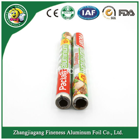Food Aluminum Foil Roll (FA358) for Packing