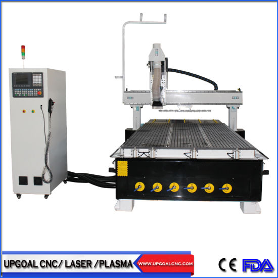 1530 Linear Atc Wood CNC Router for 10PCS Tools Changing with Syntec Controller
