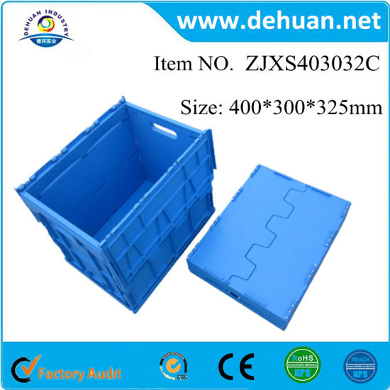 Foldable Fruit Plastic Storage Box Plastic Storage Containers Box  sc 1 st  Shanghai Dehuan Industry Co. Ltd. & China Foldable Fruit Plastic Storage Box Plastic Storage Containers ...