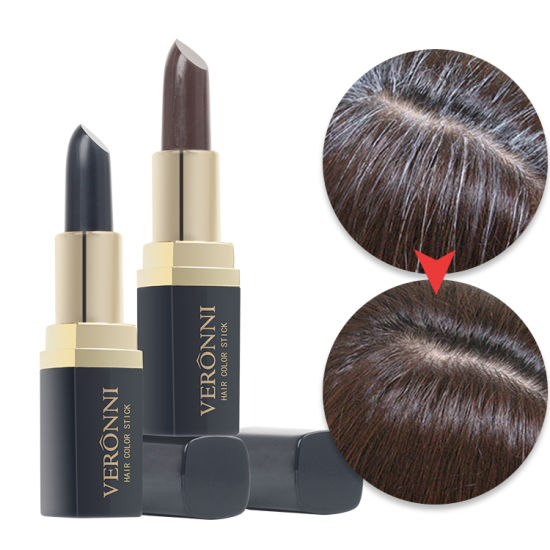 VERONNI Gray Hair Touch Up Stick Lipstick Shape for Natural Hair Dye Convenient New Design Temporary Cover Your Grey White Hair pictures & photos