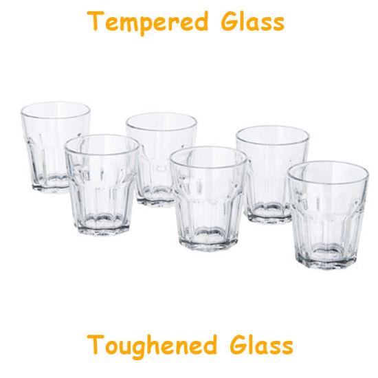 Bespoke Toughened Whisky Glasses Tampered Drinking Glasses