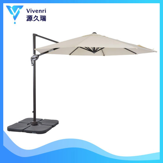 Uv Resistant Sun Outdoor Patio Umbrella Chinese Cantilever Hanging Garden Parasol China Garden Umbrella And Magic Umbrella Change Color Price