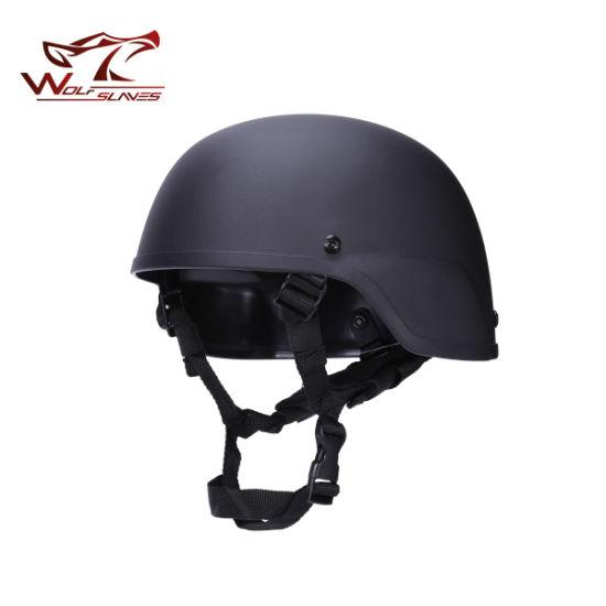 Military Mich 2000 Replica Light Weight ABS Plastic Helmet Safety Helmet