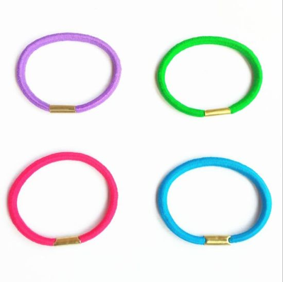 High Quality Round Elastic Hair Loop pictures & photos