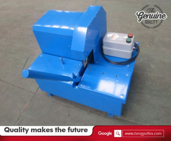 Hose Crimping Machine /Dm350 Rubber Tube Cutter pictures & photos