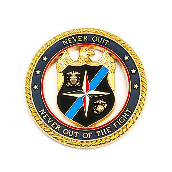 Customized High Quality Enamel Police/Army Coin Badge Collection pictures & photos