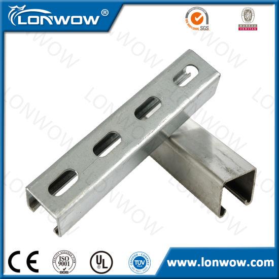 Hot Dipped Galvanized Steel Strut Channel Strut C Channel