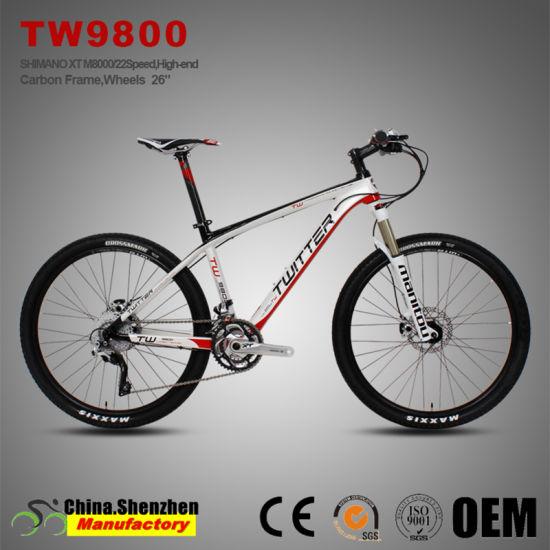 27.5er Xt Groupset M8000 33speed Full Carbon Fiber T1000 Mountain Bicycle