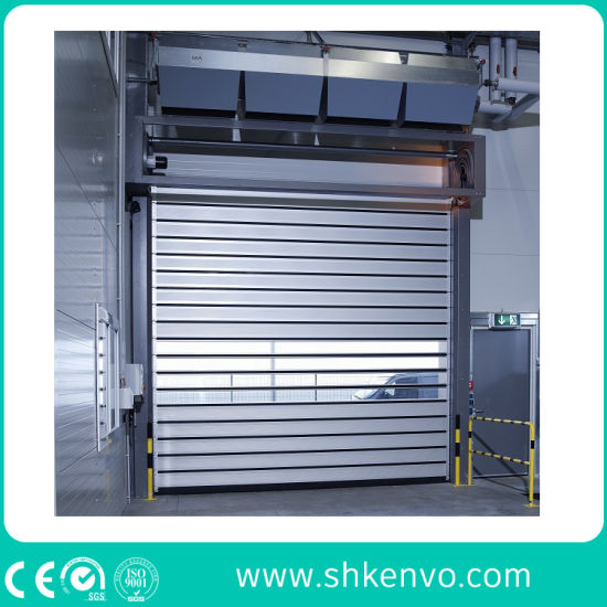 Industrial Warehouse Aluminum Alloy Metal Overhead Rapid Action Rolling Doors