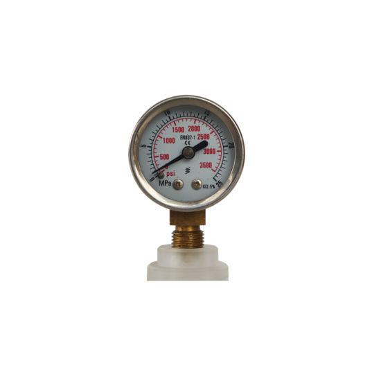 3500 Psi 40mm 1.5 Inch Stainless Steel Pressure Gauge
