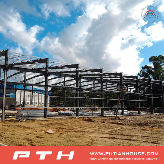 Prefab Well Designed Steel Structure Workshop for Sale pictures & photos