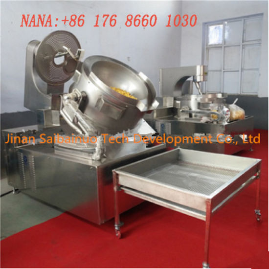 New Designed Factory Directly Supply Full Automatic Popcorn Puffing Line pictures & photos
