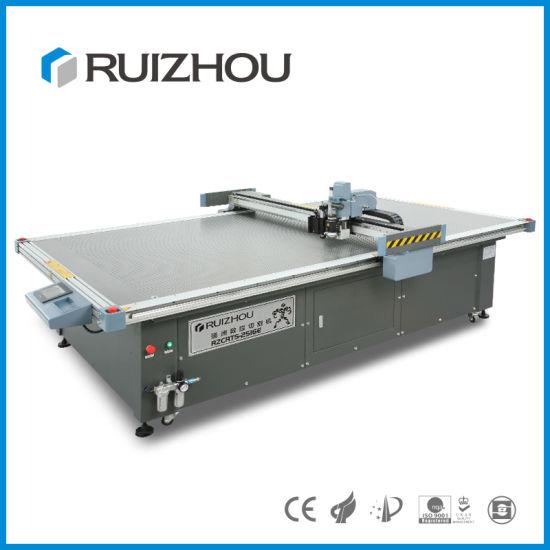 Round Knife Cloth Cutting Machine/ CNC Cutting Table 2500*1600mm