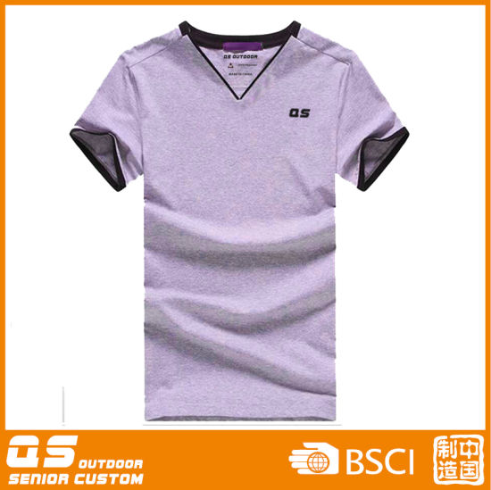 Men′s Melange Sport T-Shirt pictures & photos