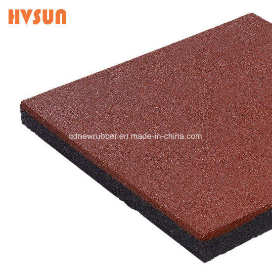 China High Quality Connect Interlocking Plastic Pin Rubber Tile - Rubber connecting floor mats