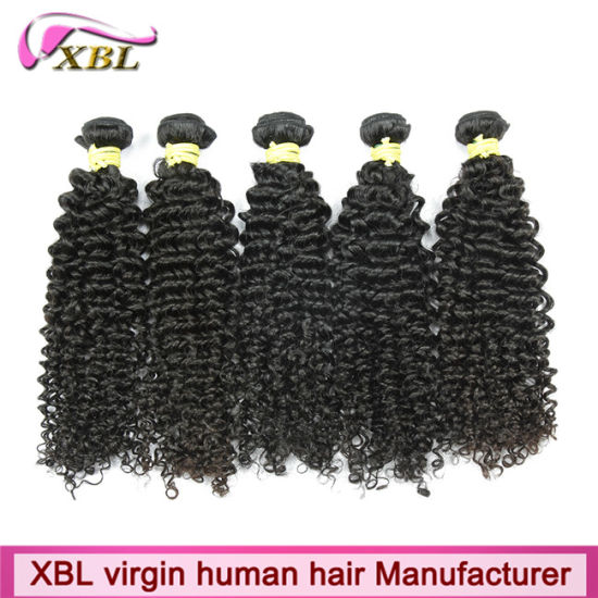 Experienced Human Hair Factory Brazilian Curly Hair pictures & photos