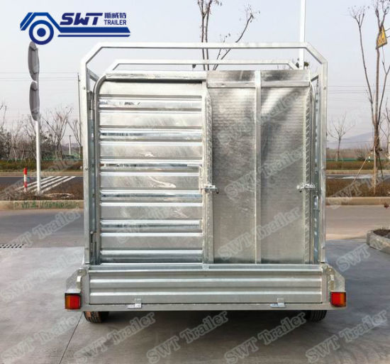 Factory Produce and Sell Big Cargo Box Semi Trailer (SWT-CCT105)