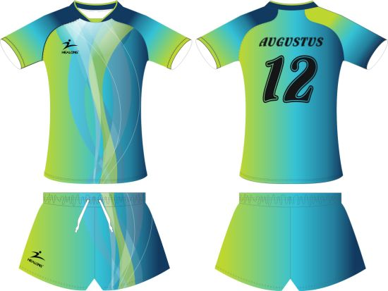 b0a216c3568 Healong Girls Sublimation Volleyball Jersey Custom Wholesale Volleyball  Uniform pictures   photos