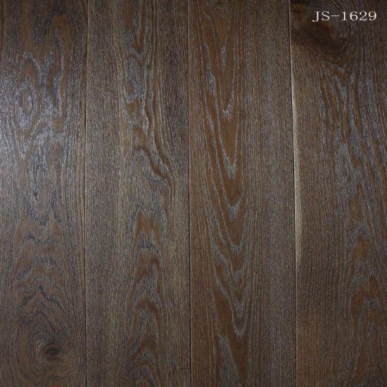 China Dark Color Householdcommercial Engineered Oak Woodhardwood
