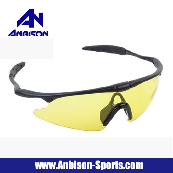 13305b6d50376 Wholesale Cheap Airsoft UV Protect Police Shooting Glasses Sunglasses  pictures   photos