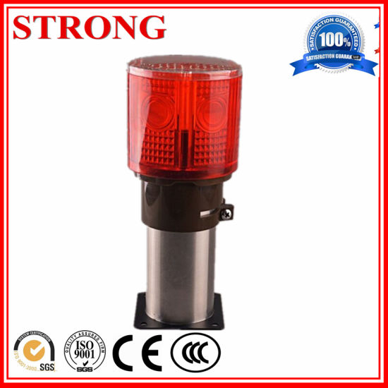 Red LED Traffic Road Construction Solar Warning Light pictures & photos