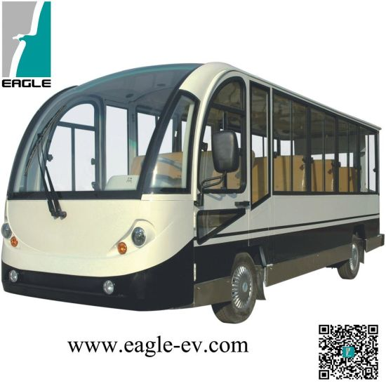 Electric Mini Bus, with Closed Hard Door, 14 Seats, CE Certificate pictures & photos