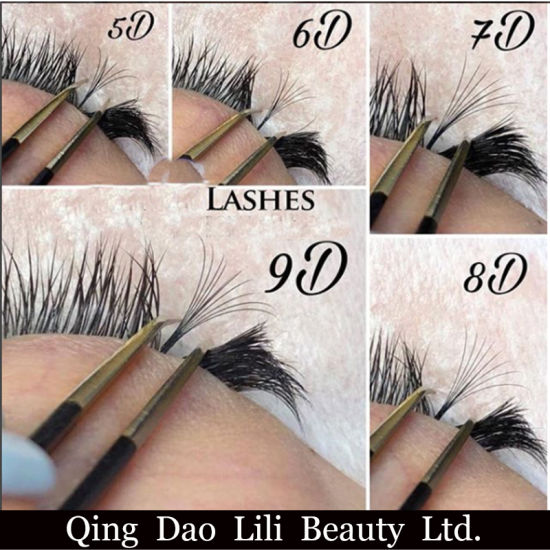 1ad990d5d62 Tdance Lashes Own Brand Hand Made Pre-Made 3D 0.07 Cc Curl 11mm Long Root  Volume Fans