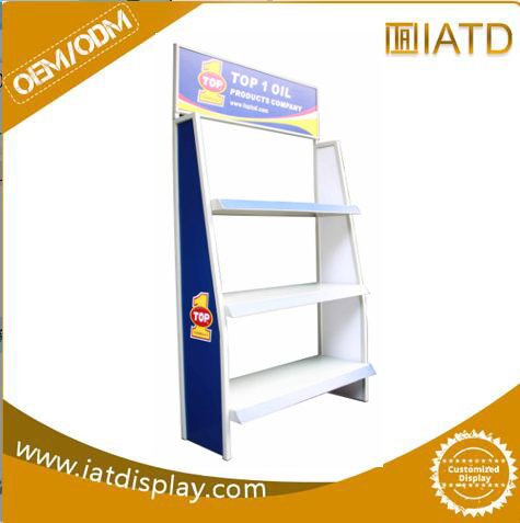 Store Laundry Detergent Metal Hook Display Stands Wire Display Rack/Stands pictures & photos