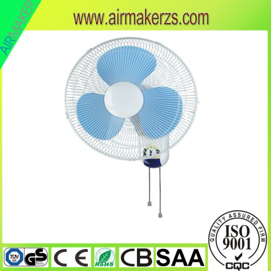 China safety Energy Saving AC 360 Degree Oscillating Wall Fan