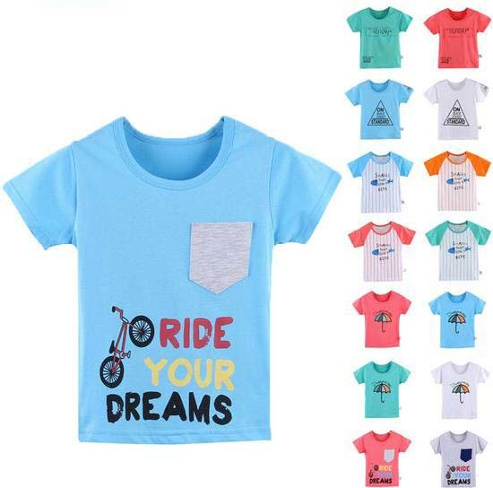 96007bba2fa2a Kids Boy T-Shirt in Children′s Clothing with Differet Children Wear  pictures &